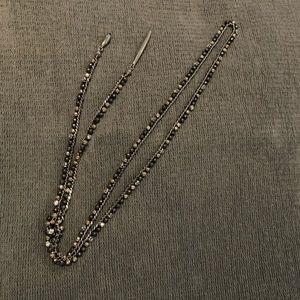 EUC Stella and Dot Zoe Lariat necklace